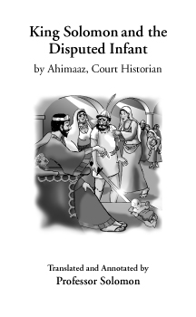 King Solomon and the Disputed Infant cover