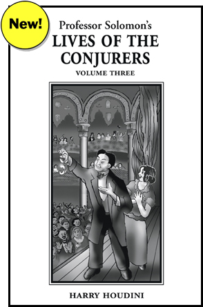 Conjurers Volume Three cover and link to volume 3 information page